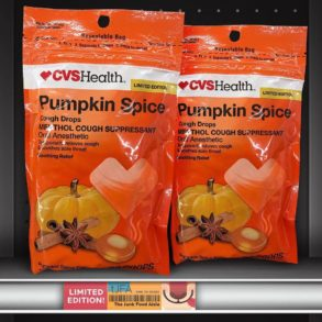 CVS Pumpkin Spice Cough Drops