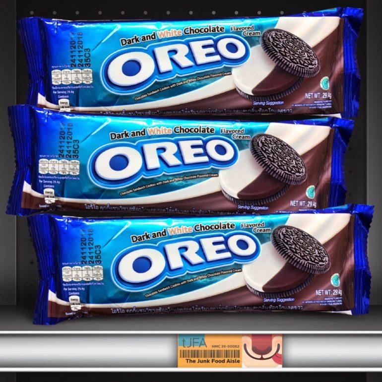 Dark And White Chocolate Oreo The Junk Food Aisle