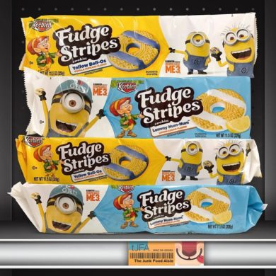 Despicable Me 3 Presents: Keebler Fudge Stripes Yellow Bell-Os & Lemmy Num-Nums