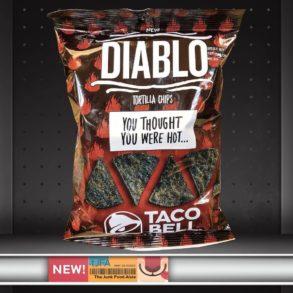 Diablo Taco Bell Tortilla Chips