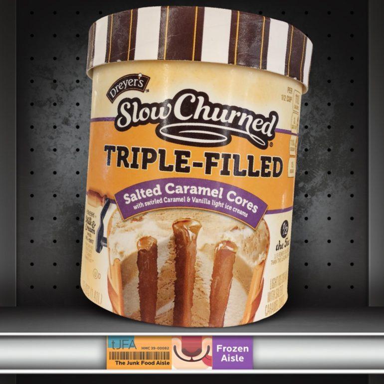 Dreyer's Slow Churned Triple Filled: Salted Caramel Cores