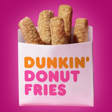 Dunkin' Donut Introduces new Donut Fries!