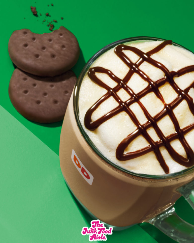 Dunkin' Donuts Girl Scout Cookie Coffee