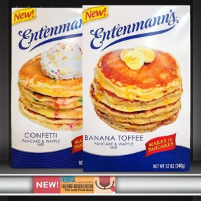 Entenmann's Banana Toffee and Confetti Pancake & Waffle Mixes