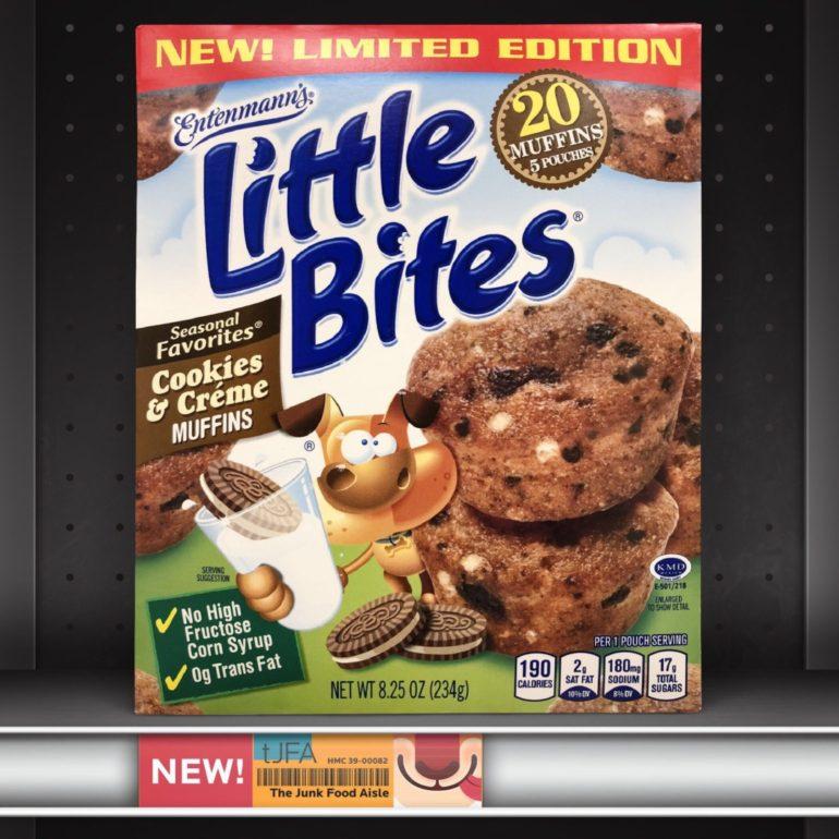 Entenmann's Cookies & Creme Little Bites
