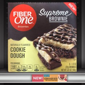 Fiber One Cookie Dough Supreme Brownie