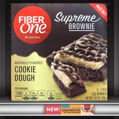 Fiber One Cookie Dough Supreme Brownie