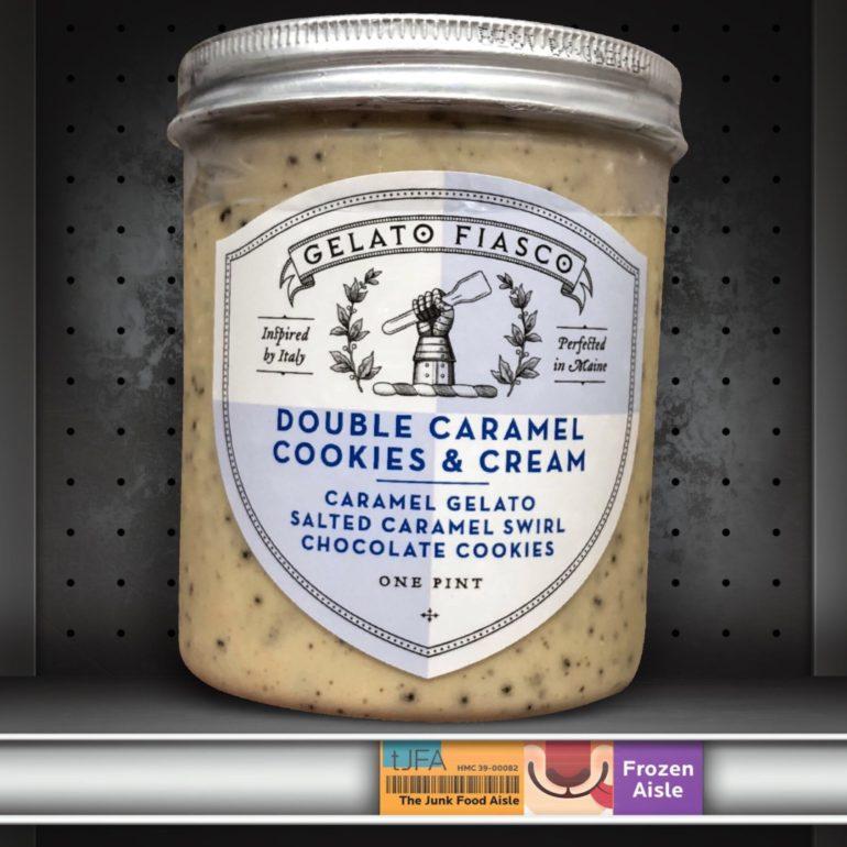 Gelato Fiasco Double Caramel Cookies & Cream