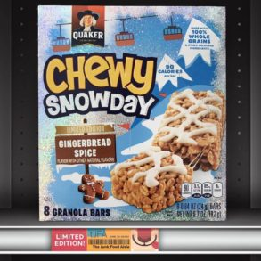 Gingerbread Spice Chewy Snowday Granola Bars