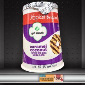 Girl Scouts Caramel Coconut Yoplait Yogurt