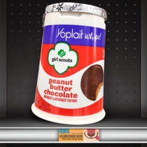 Girl Scouts Peanut Butter Chocolate Yoplait Yogurt