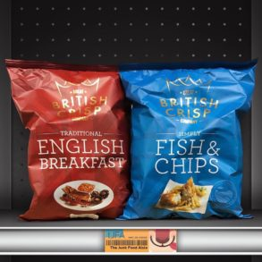 Great British Crisp Company English Breakfast and Fish & Chips