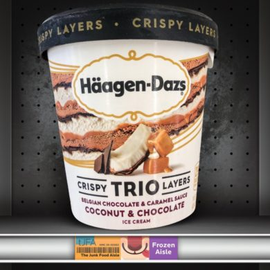 Häagen-Dazs Trio Crispy Layers: Coconut & Chocolate