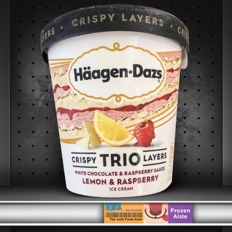 Häagen-Dazs Trio Crispy Layers: Lemon & Raspberry