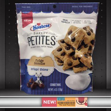 Hostess Bakery Petites: Fudge Blondie Crispi Thins