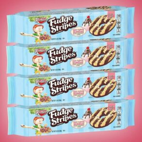 Hot Fudge Sundae Fudge Stripes Cookies!