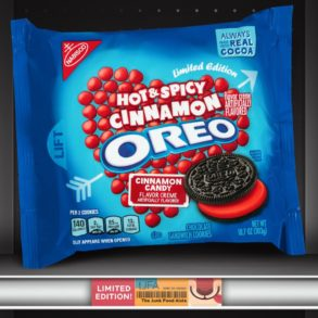 Hot & Spicy Cinnamon Oreo