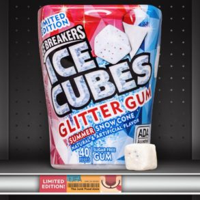 Ice Breakers ICE CUBES Glitter Gum Summer Snow Cone