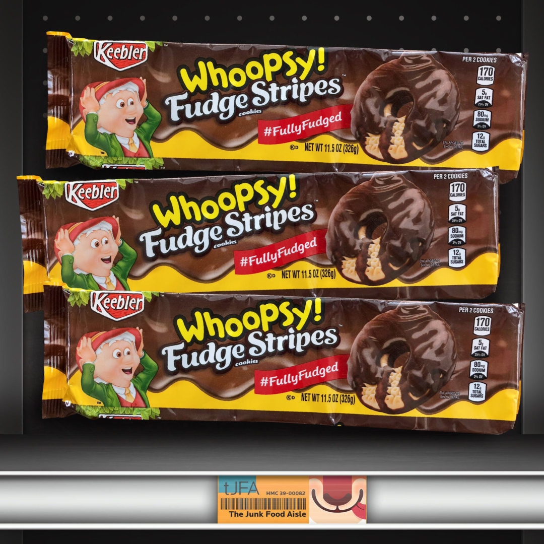 Keebler Whoopsy! Fudge Stripes Cookies