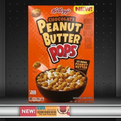 Kellogg's Chocolate Peanut Butter Corn Pops