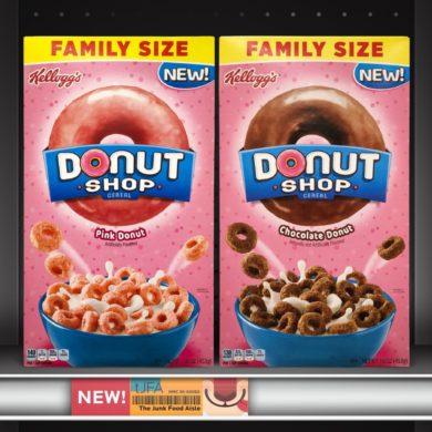 Kellogg's Donut Shop Cereal