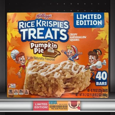 Kellogg's Pumpkin Pie Rice Krispy Treats