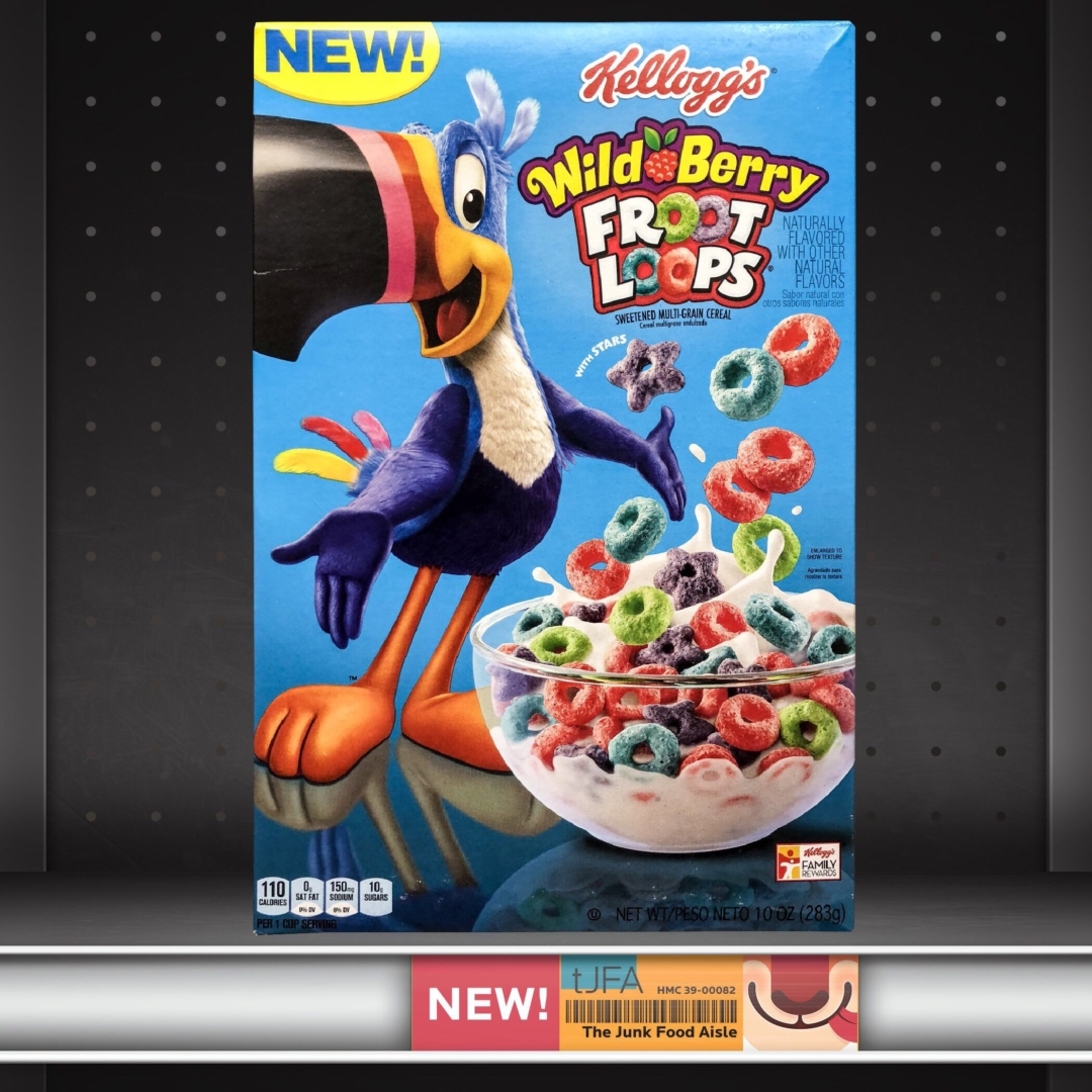 Kellogg's Wild Berry Froot Loops