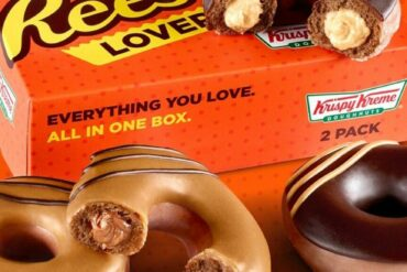 Krispy Kreme Reese's Original Filled Doughnuts are out now for a limited time!