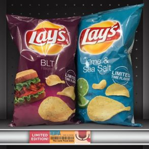 Lay's BLT and Lime & Sea Salt