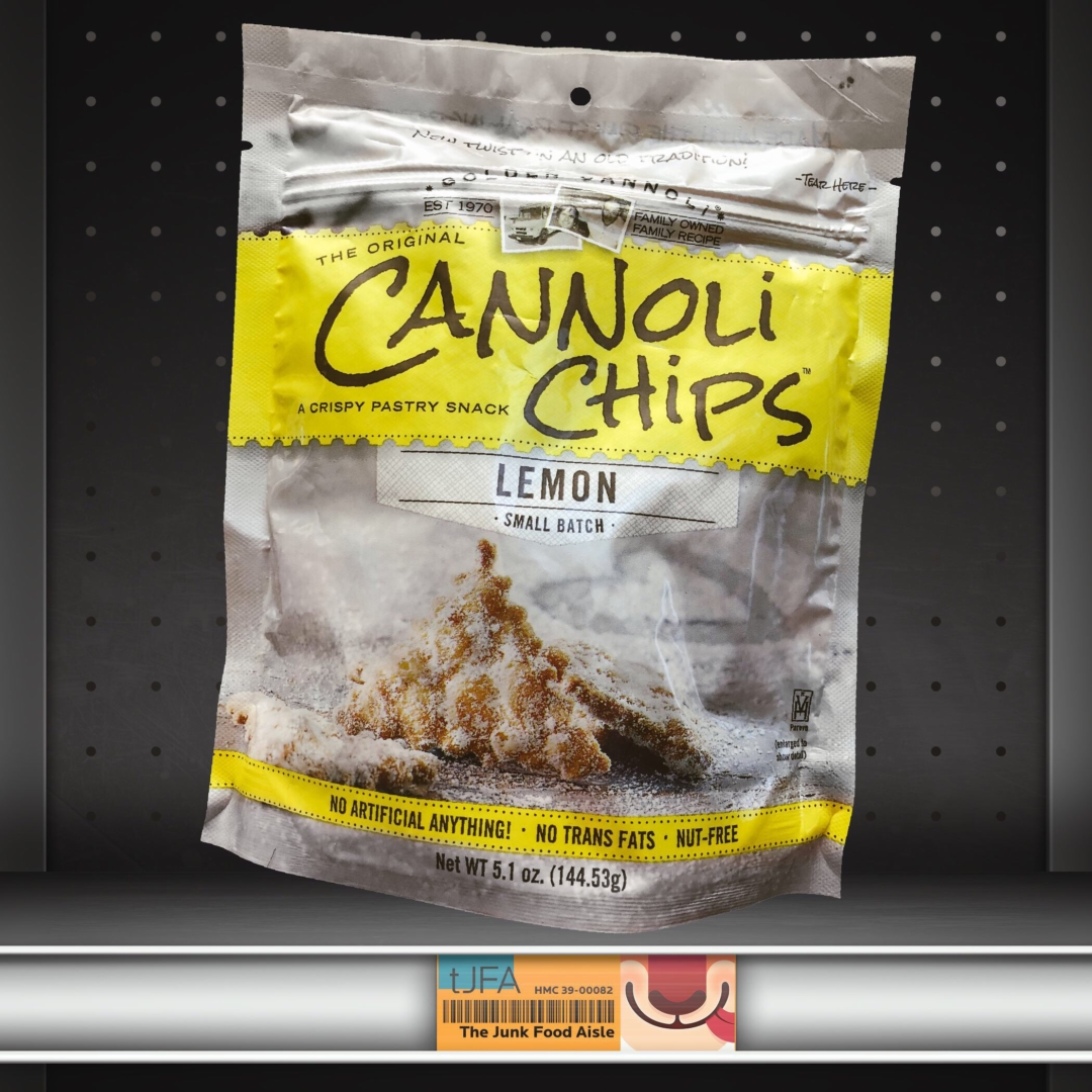 Lemon Cannoli Chips