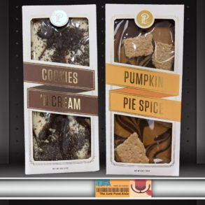Lolli & Pops Topp'd Bars: Pumpkin Pie Spice and Cookies 'N Cream