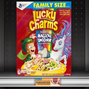 Lucky Charms now with Magical Unicorn Marshmallows