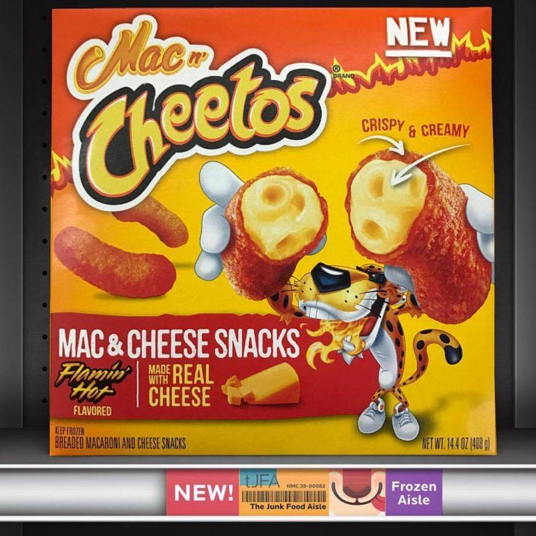 Mac n' Cheetos Flamin' Hot Mac & Cheese Snacks
