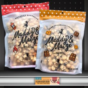Maddy & Maize Bourbon Barbecue & Dark Chocolate Caramel Popcorn