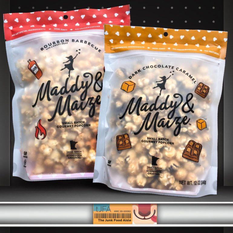 Maddy & Maize Bourbon Barbecue & Dark Chocolate Caramel Popcorn