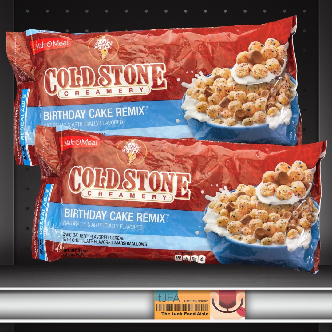 Malt O Meal Cold Stone Birthday Cake Remix Cereal The Junk Food Aisle