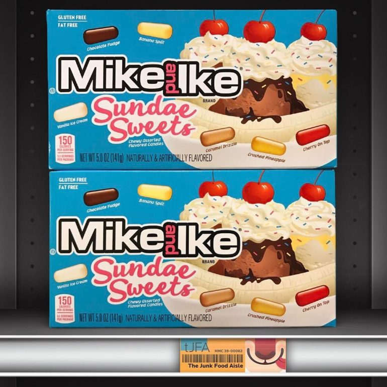 Mike & Ike Sundae Sweets