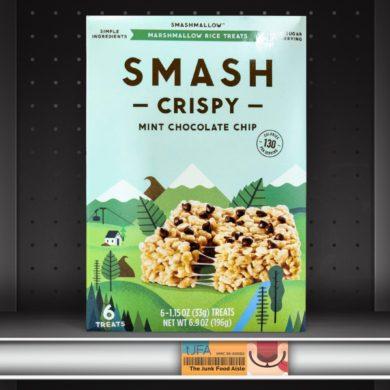 Mint Chocolate Chip SmashCrispy