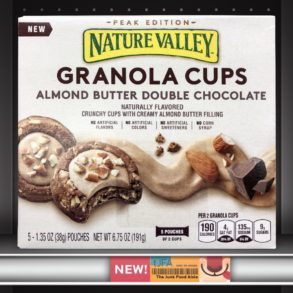 Nature Valley Almond Butter Double Chocolate Granola Cups