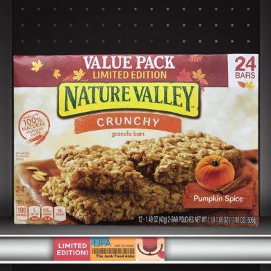 Nature Valley Crunchy Pumpkin Spice Granola Bars