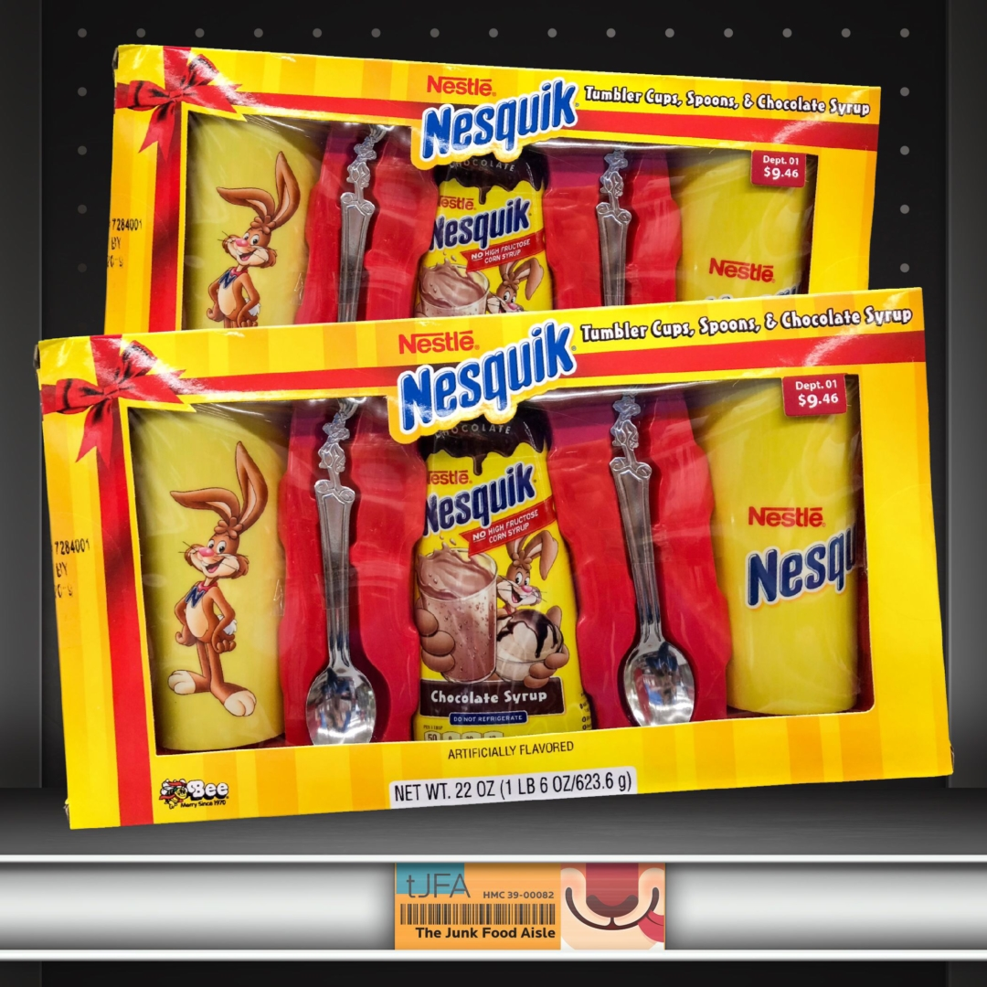 Nesquik Gift Set The Junk Food Aisle