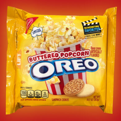 Not Coming Soon: Buttered Popcorn Oreo