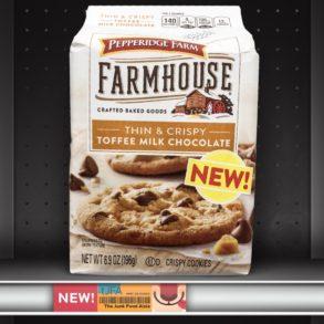 Pepperidge Farm Farmhouse Thin & Crispy Toffee Milk Chocolate Cookies