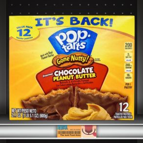Pop-Tarts Gone Nutty! Frosted Chocolate Peanut Butter