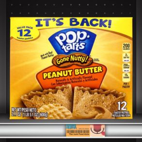 Pop-Tarts Gone Nutty! Peanut Butter