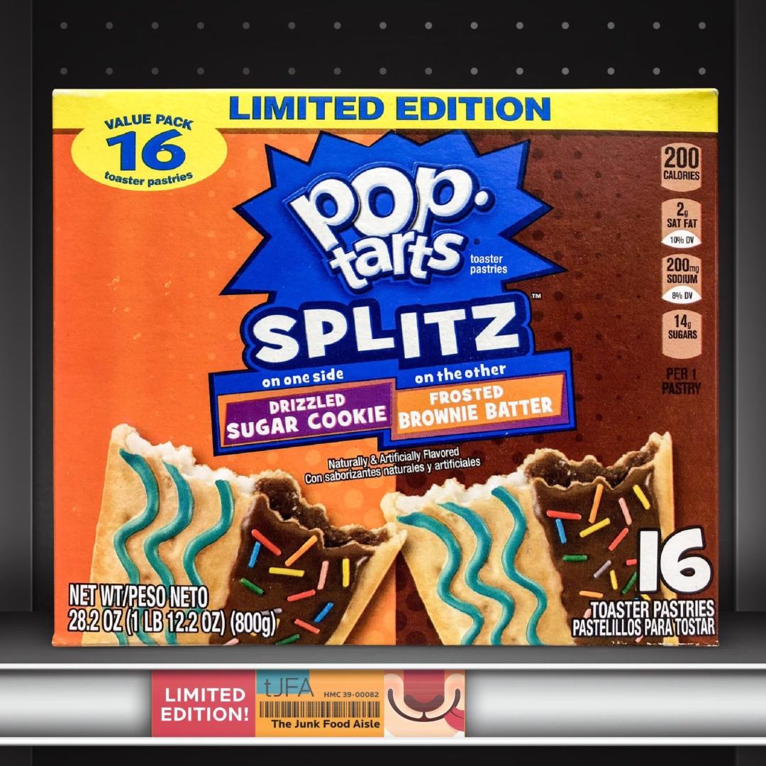 Pop-Tarts Splitz: Sugar Cookie & Brownie Batter