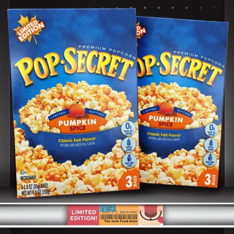Pumpkin Spice Pop Secret Popcorn