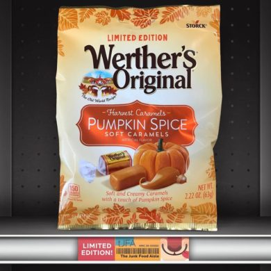 Pumpkin Spice Werther's Original Soft Caramels