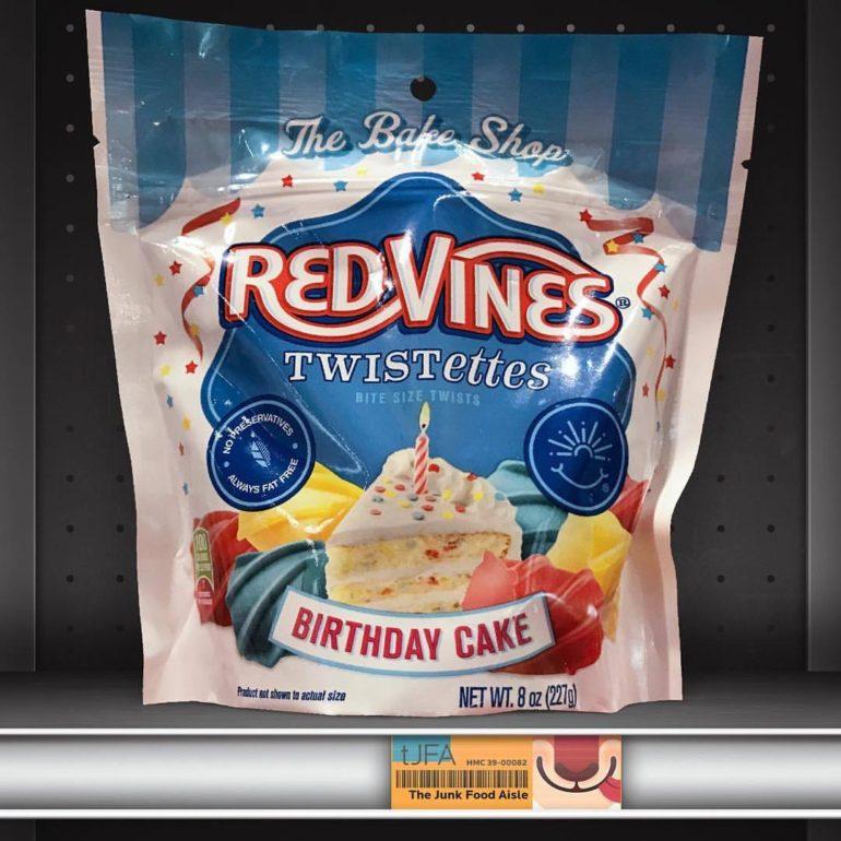 Red Vines Twistettes Birthday Cake