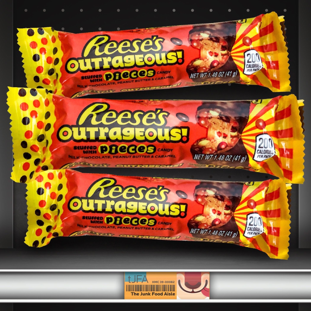 Reese's Outrageous Stuffed with Pieces